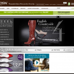 DSW Shoes Online Retail Store Design