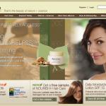 Aveeno Online Retail Design