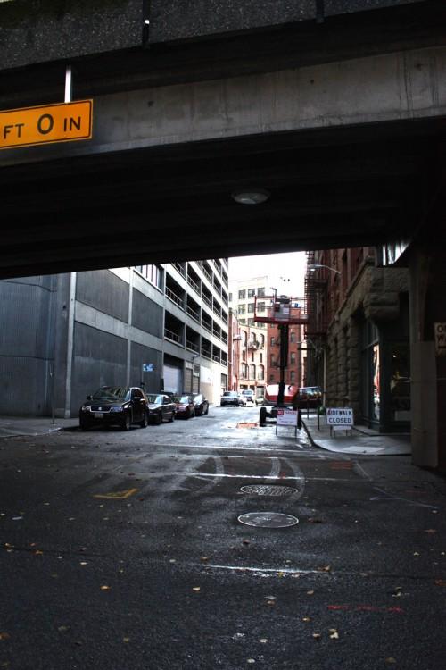 Seattle Alleyway