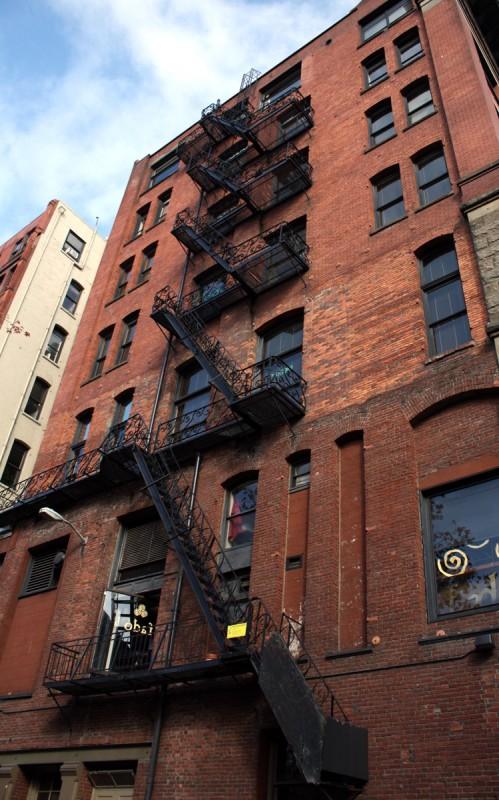 Seattle Brick Fire Escapes