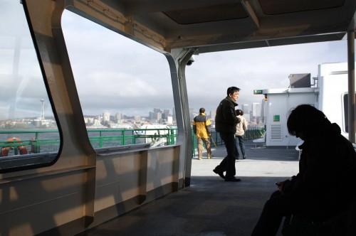 Ferry to Bainbridge Island | Seattle Photography