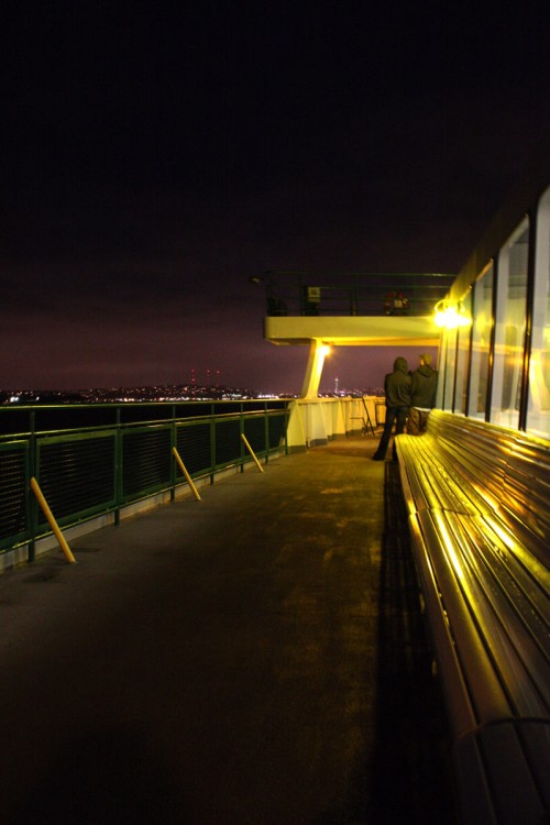 Ferry at Night | Seattle Photography