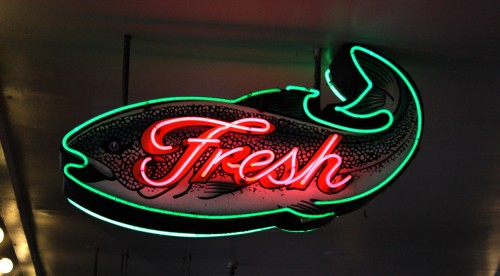 Fresh Neon Sign | Pikes Market