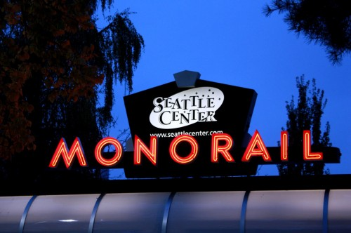 Monorail to Seattle Center | Seattle Photography