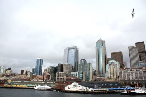Seattle from Ferry