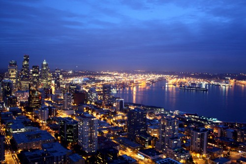 Skyline from the Space Needle