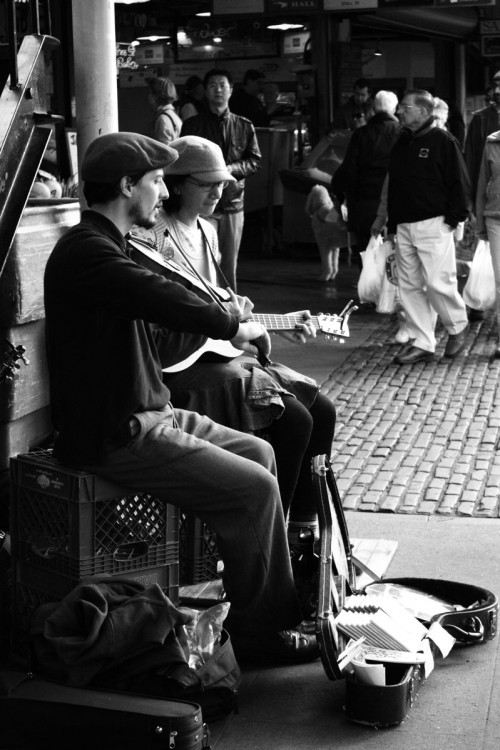 Music in the Streets | Seattle Pike's Market