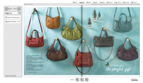 Fossil Interactive Gift Catalog