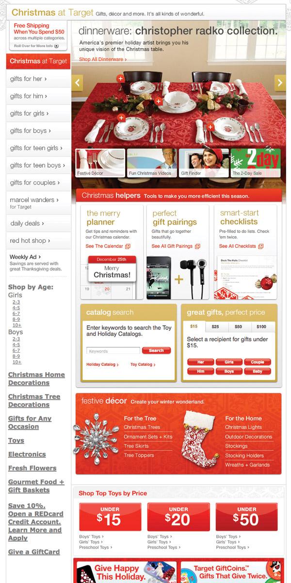 Target Gift Shop