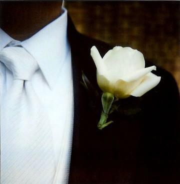 Poloroid Groom Tie