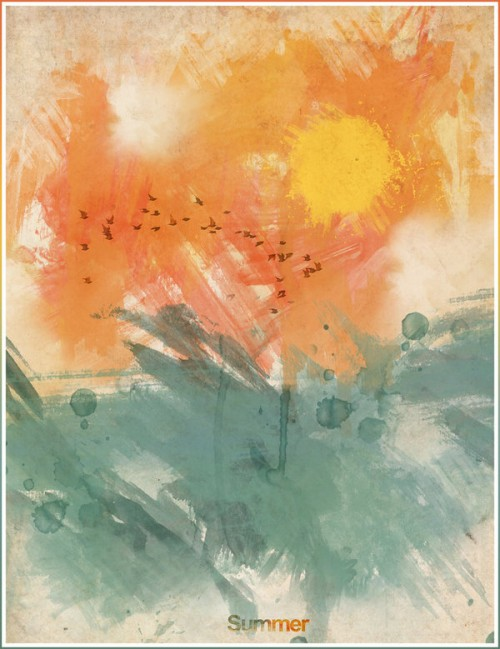 Summer by Luis Afonso | Painting