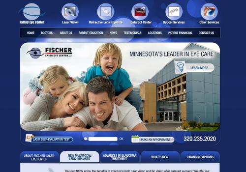 Family Eye Care | Eyecare Web Design