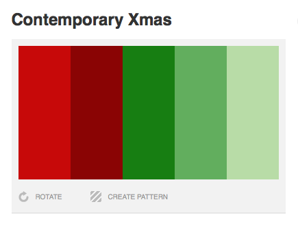 Christmas Colors Palette.Inspiration Winter Color Palettes 2010 Sarah Lynn Design