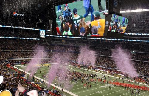 Packers Celebrate Super Bowl 45 Win