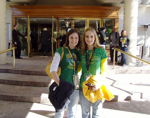 Sarah Lynn & Katie Helein