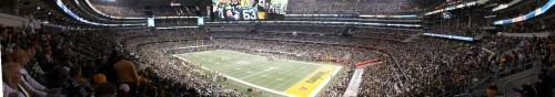 Super Bowl 2011 Stadium Panoramic