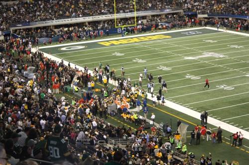 Cowboys Stadium - Packers Endzone