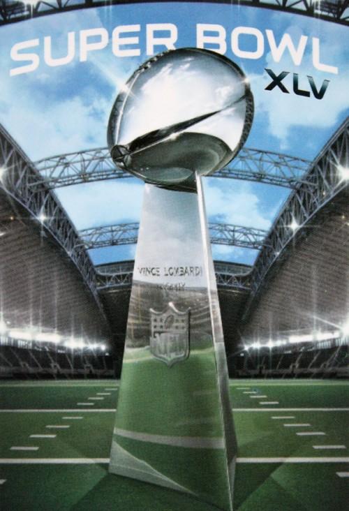 Super Bowl Ticket Closeup