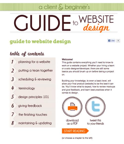 Guide to Website Design