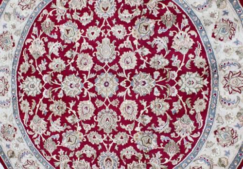 Turkish Carpet Design Closeup