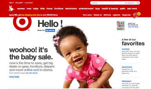 Target's Use of Links