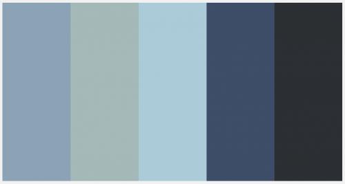 Rainy Haze Color Palette