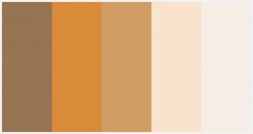 Pumpkin Pie Color Palette