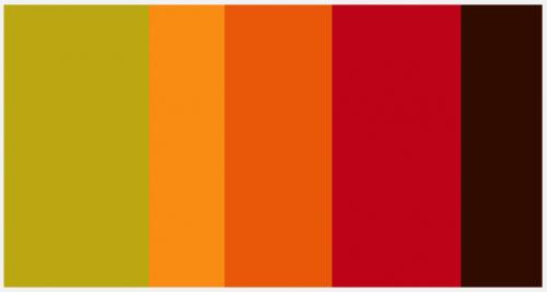 Leaf Burst Color Palette