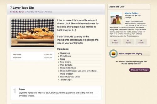 Culinary Culture Design - Recipe
