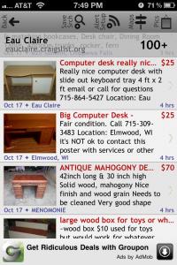Craigslist App