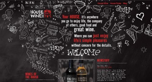 House Wine Co. Website Design