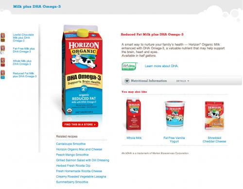 Horizon Product Page Design