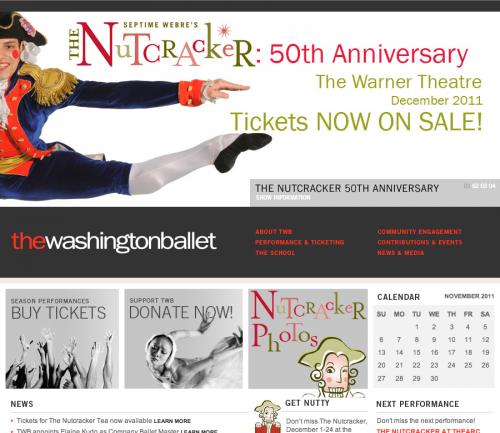 The Washington Ballet Design