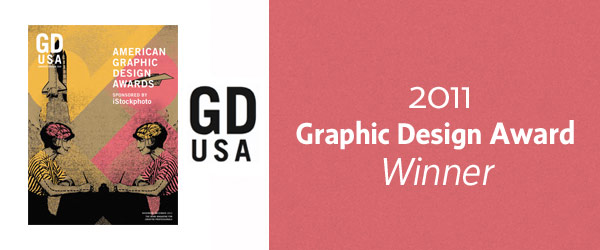 GD USA Graphic Design Awards Winner
