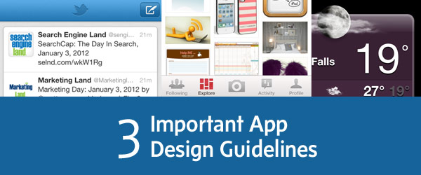 App Design Guidelines