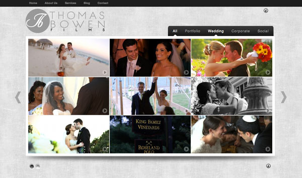 Thomas Bowen Films Weddings