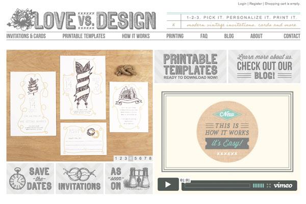 Love vs Design