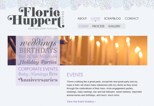 Florie Huppert Product Page
