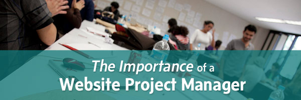 Importance of a website project manager