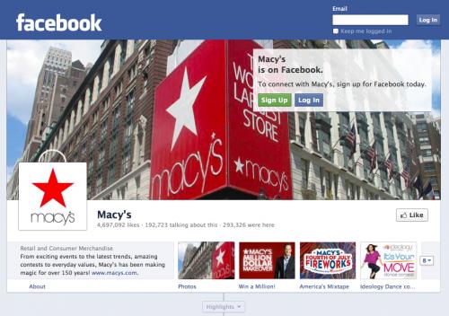 Macys Facebook