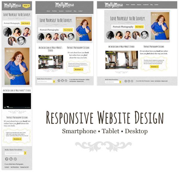 Molly Marie Photography Eau Claire Website Design Lynn Design Co