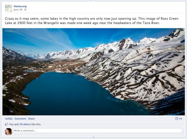 Alaska.org Facebook