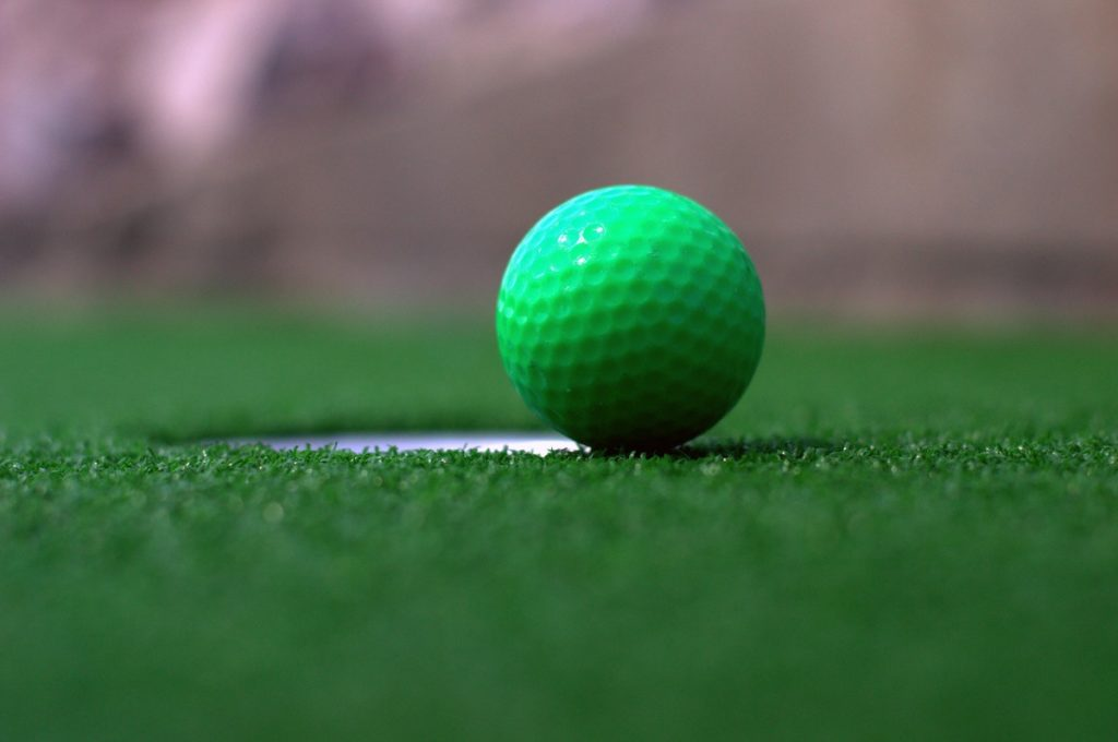 Mini Golf Green Ball