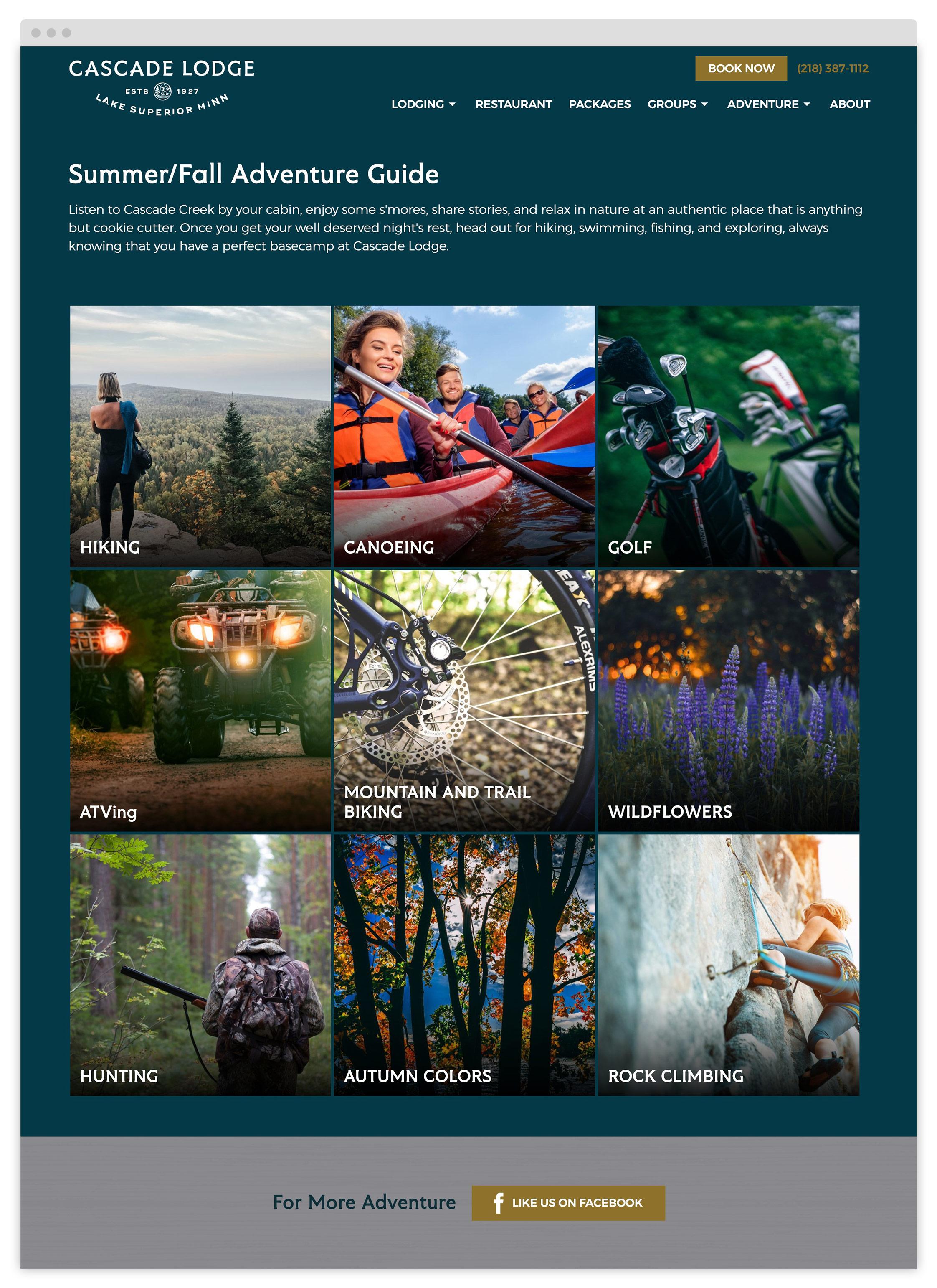 Adventure Guide Cascade Lodge