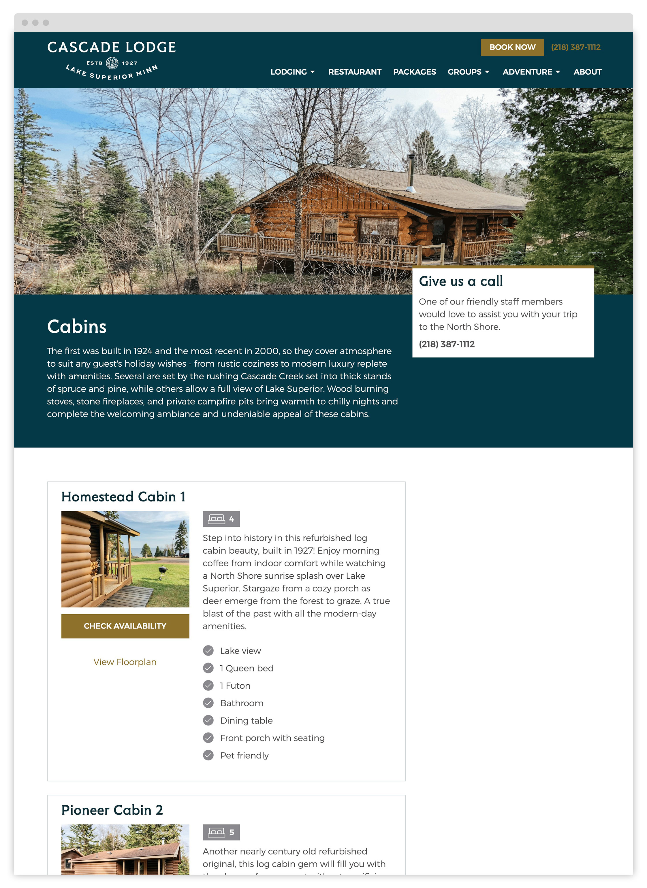Cascade Lodge Cabins