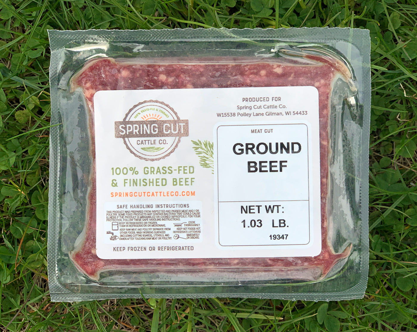 Beef Label Design